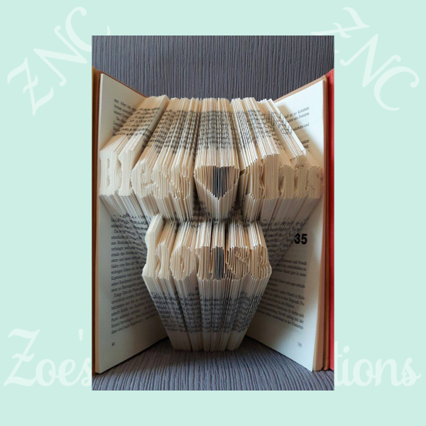 As For Me and My House Book Folding Pattern